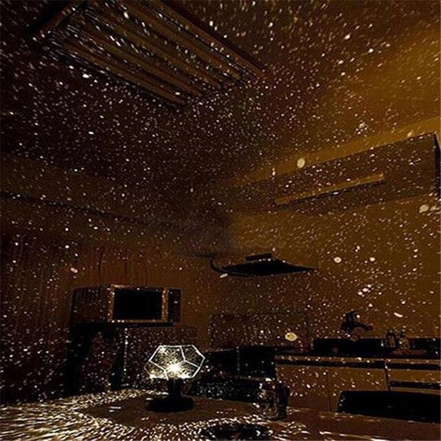 Dreamlike Star Magic LED Star Lights Night Light Laser Projector Gift For Kids Home Decoration Bedroom Desktop