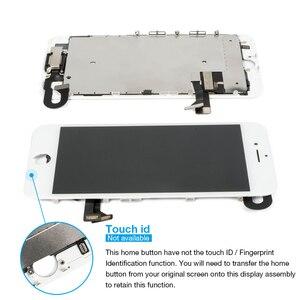 Image 2 - 1Pcs OEM LCD עבור iPhone 7 8 7 8 בתוספת תצוגת סט מלא Digitizer עצרת 3D מגע החלפת מסך + מצלמה קדמית + רמקול
