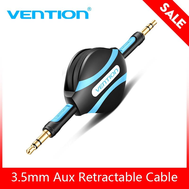Vention Retractable Aux Cable 3.5mm