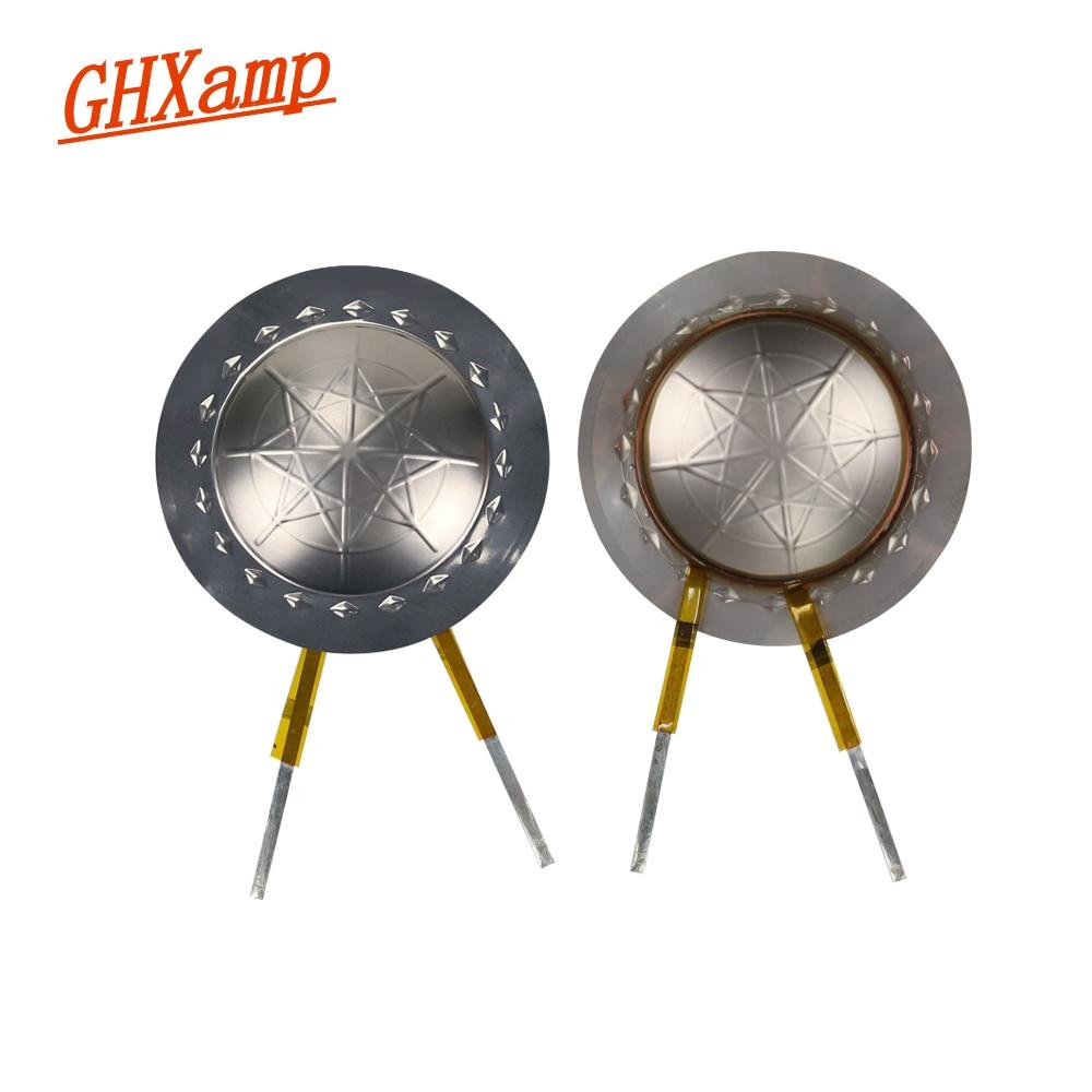 GHXAMP  25.5 Core Dome Tweeters Voice Coil Titanium Film Diaphragm 8OHM 25.4 Treble Speaker Repair Accessories DIY 2PCS