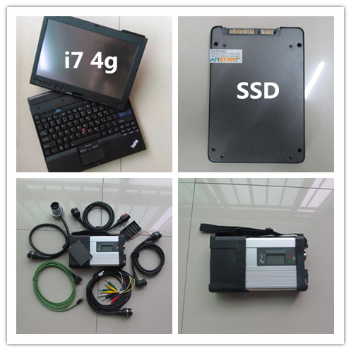 mb sd connect compact 5 star diagnosis c5 with laptop x201t i7 4g with newest software 2018 super ssd for cars & trucks 38 pin main cable for mb star c4 c5 diagnosis sd connect for mercedes compact 4 5 super quality
