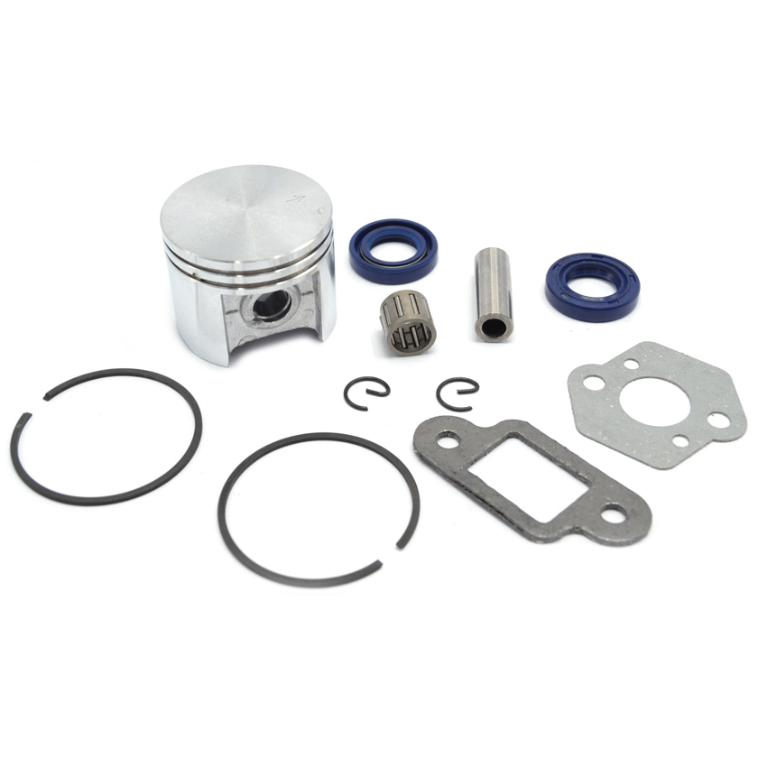 Chainsaw Piston Set Needle Bearing Kit Oil Seal Carburetor Muffler Gasket fit Stihl MS250 Repaces 1123 030 2016,1123 034 3006 690115 carburetor carb replacement gasket accessories set kit replacement fit for 690111
