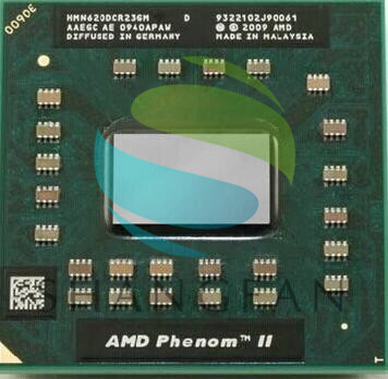 AMD PHENOM II N620 HMN620DCR23GM A Central Processor Cpu Laptop Socket S1 2.8G 2M Dual Core N 620
