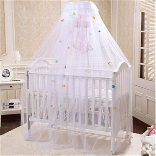 Hot Sale Yellow White Pink Color Baby Infant Kids Bed Net Crib Canopy Tent Mosquito Cortina Para Cama Dossel In Netting From Mother
