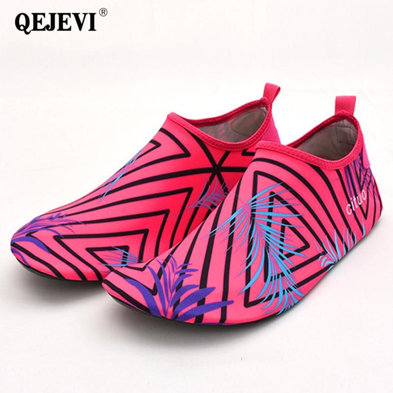 10fef44d749 Summer Aqua Water Shoes for Women Men Swim Beach Wet Best Water Shoes Aqua  Socks Rivers Pool Barefoot Shoe Cheap Wide Sneakers
