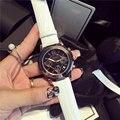 Мода роскошные женщины смотреть известный бренд Кварцевые Часы керамические часы женщины кожаный ремешок наручные часы дамы relojes
