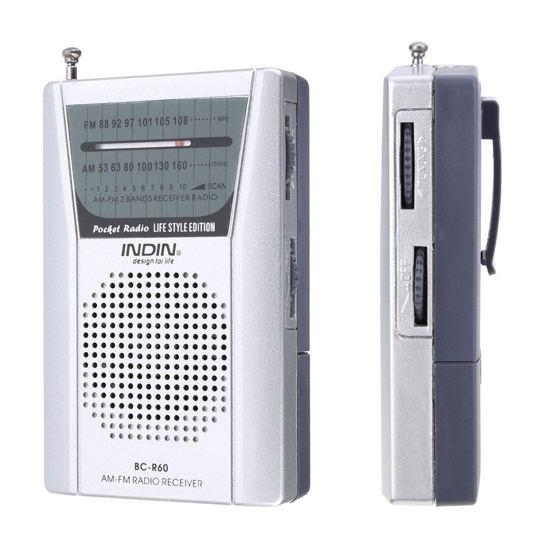 Kreativ Mayitr 1 Stück Tragbare Mini-tasche Am Fm Radio Lautsprecher Teleskopantenne 3,5mm Kopfhörer Jack Bc-r60 Mini Radio Tragbares Audio & Video