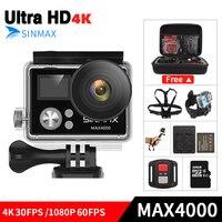 Ultra HD 4K Wifi OEM H9R Action Camera 4k 30fps Dual Screen 2 0 LCD Go