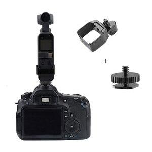 Image 3 - Osmo ポケットブラケット金属クリップ固定アダプタ DJI osmo ポケットカメラハンドヘルドアクセサリー