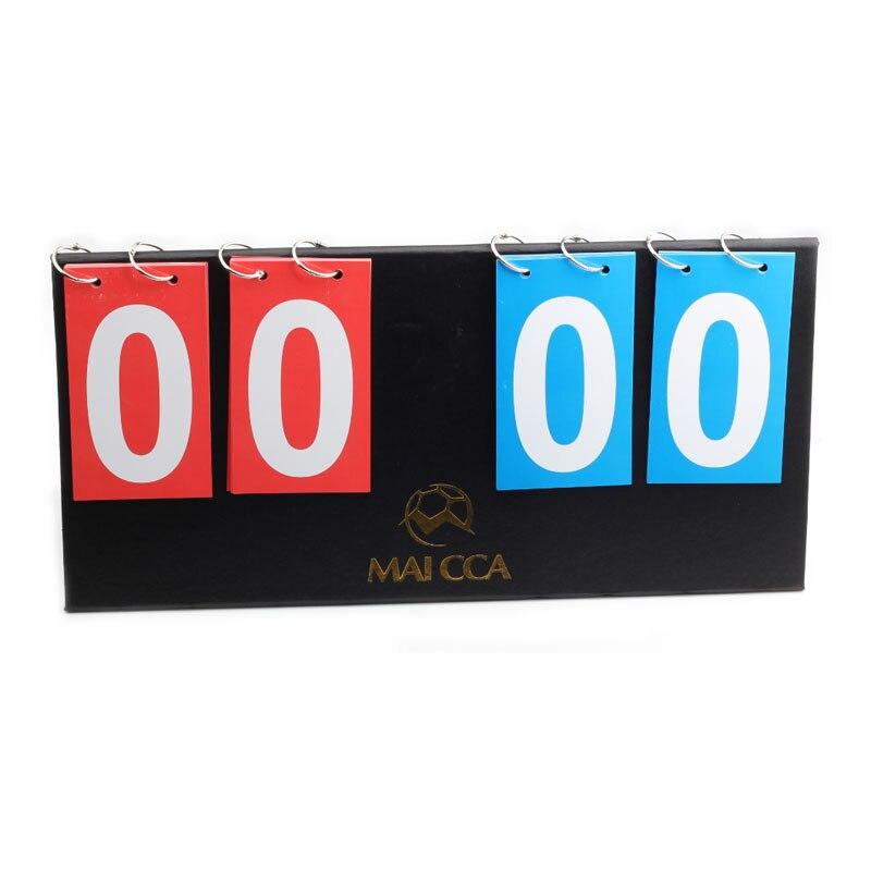 MAICCA basketball Score board 4 digit Soccer scoreboard for Football volleyball handball tennis Folding Sports scoreboards