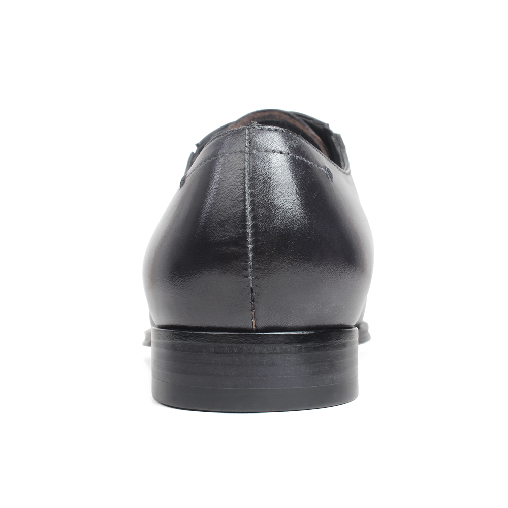 Gray Patina Handmade Oxford Shoes 4