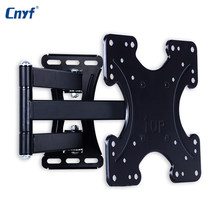 CNYF Wall Mount Full Motion Tilt Swivel Holder LCD LED TV Wall Mount Bracket 14-46 inches Wall Stand Adjustable Mount Arm(China)