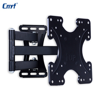 CNYF Wall Mount Full Motion Tilt Swivel Holder LCD LED TV Wall Mount Bracket 14 46 inches Wall Stand Adjustable Mount Arm