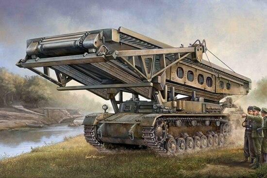 Trumpeter Model 00390 1/35 German Bruckenleger IV B Tank Model Kit