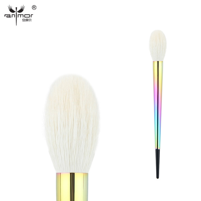 Anmor Pro Precision Face Brush Goat Hair Tapered Powder Blush