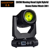 2019 New Design High Power 380W 18R Stage 3IN1 Moving Head Light Spot Wash Beam Dual Prism Lens Linear Dimmer High Speed Strobe