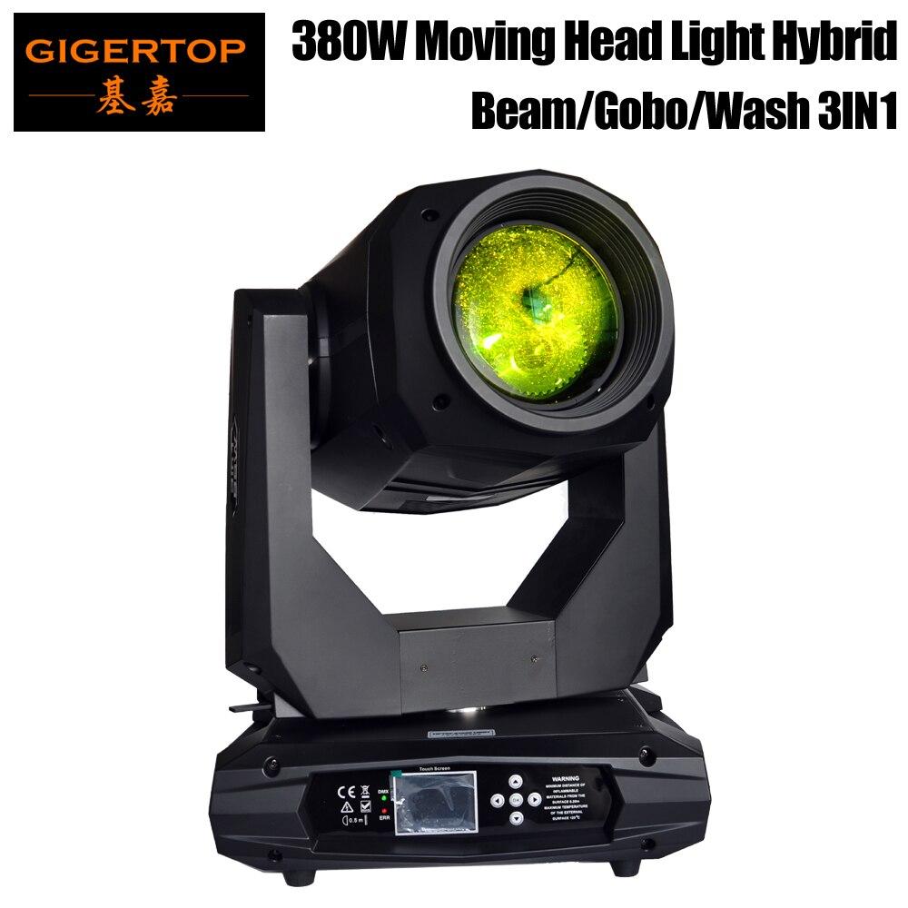 2019 nouvelle conception haute puissance 380 W 18R stade 3IN1 tête mobile lumière Spot faisceau de lavage double prisme lentille linéaire gradateur haute vitesse stroboscope