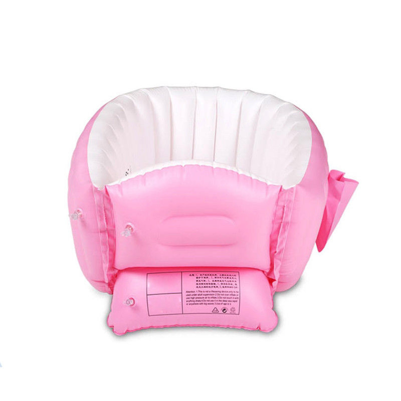 Lovely Baby Inflatable Bathtub PVC Thick Portable Bathing Bath Tub For Kid Toddler Newborn LXY9 ST28