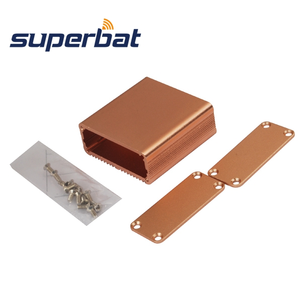 Superbat Aluminum Box Circuit Board Enclosure Case Project Electronic DIY 45*45*18.5MM