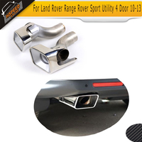 Exhaust Pipe Exhaust End Pipes Auto Mufflers Case for Land Rover Range Rover Sport Utility 4 Door 2010 2013