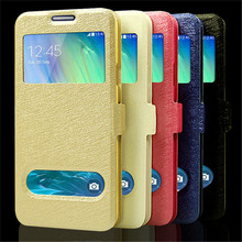 For Samsung Galaxy A3 case Samsung Galaxy A3 Cover Leather A300 A300f A300h Luxury Open Window