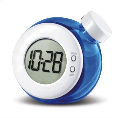 water clock bell creative smart water hydro power generating magical