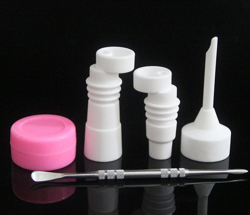 Ceramic Nails Ceramic carb cap VS titanium nail Quartz ...