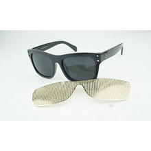 New Arrived Detachable Metal Network Mask Sunglasses For Men Women Flash Mirror Spectacles Big Square Frame Goggle Eyeglasses L3