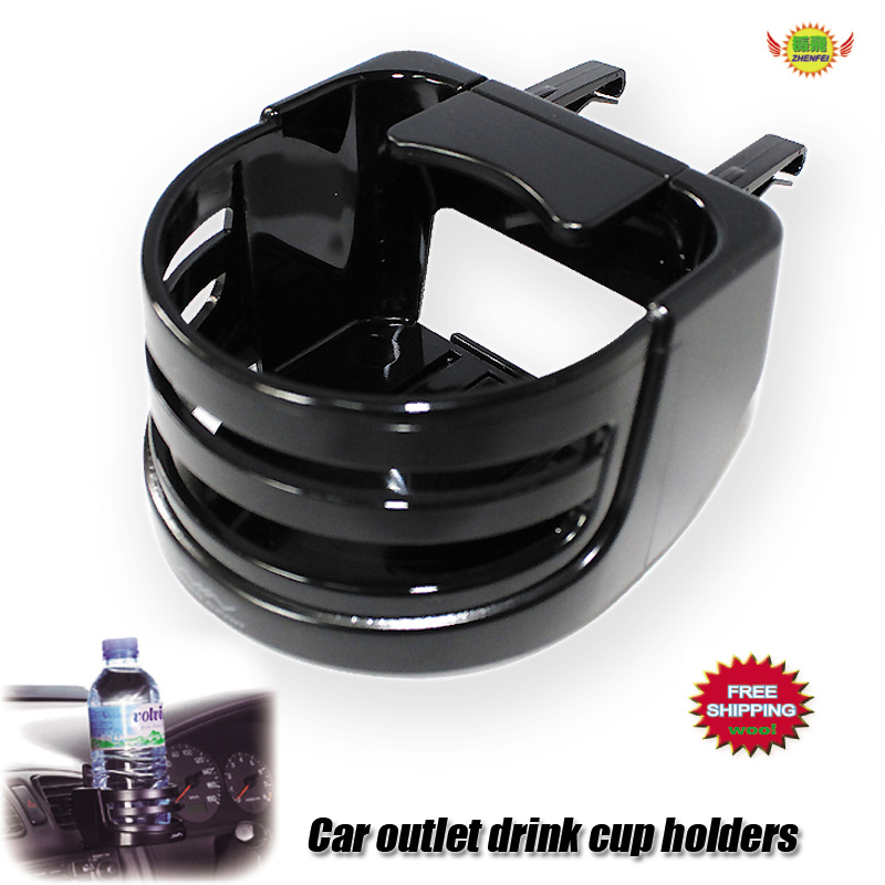 Car accessories black outlet <font><b>drink</b></font> holder <font><b>Cup</b></font> holders metal <font><b>cans</b></font> phone holder car-styling