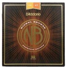 D'addario Nickel Bronze Akustik-gitarren Saiten NB1047 NB1152 NB1253 NB1256 NB1356