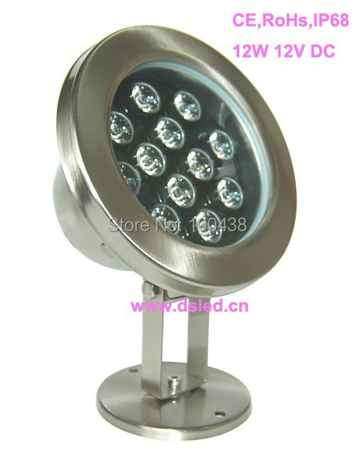 CE,IP68,Stainless steelHigh power 12W LED fountain light,LED pool light,DS-10-6-12W,12V DC,2-Year warranty,good quality