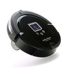 Newest Wireless Vacuum Cleaner Auto Robot Vacuum Cleaner Long Working Time And Sonic Wall Low Noise Free Shipping