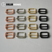 10pcs Metal tri-glides slider adjustable buckle 1 (25mm) for backpacks straps bag dog pet collar DIY accessories 4 colors цена