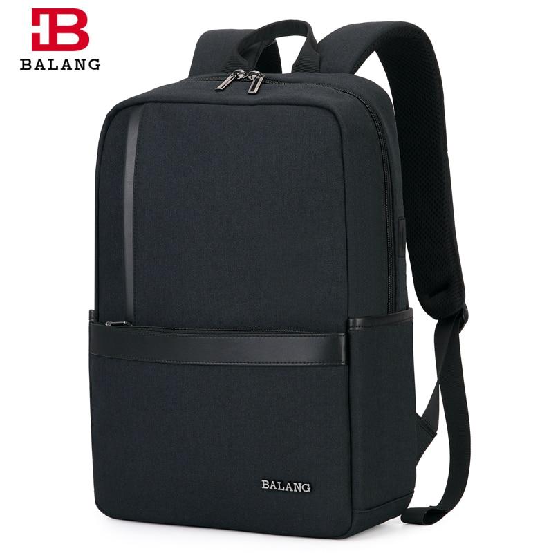 BALANG Waterproof 15.6 inch Laptop Backpack School Bag for Teenagers Men Backpacks Travel Bag Male Bagpack Mochila 2019-in Backpacks from Luggage & Bags    1