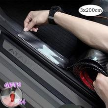 Универсальная дверь машины защитный бампер резиновый протектор Передняя Задняя дверь входная защита подоконника Накладка для большинства 100% водонепроницаемый CB006