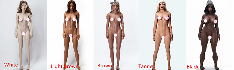 Skin Color Options