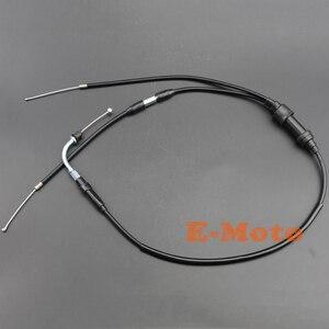 Image 5 - Alloggiamento acceleratore KILL interruttore blocco leva freno manopole cavo acceleratore per PW50 PY50 PY PEEWEE PW 50 Moto
