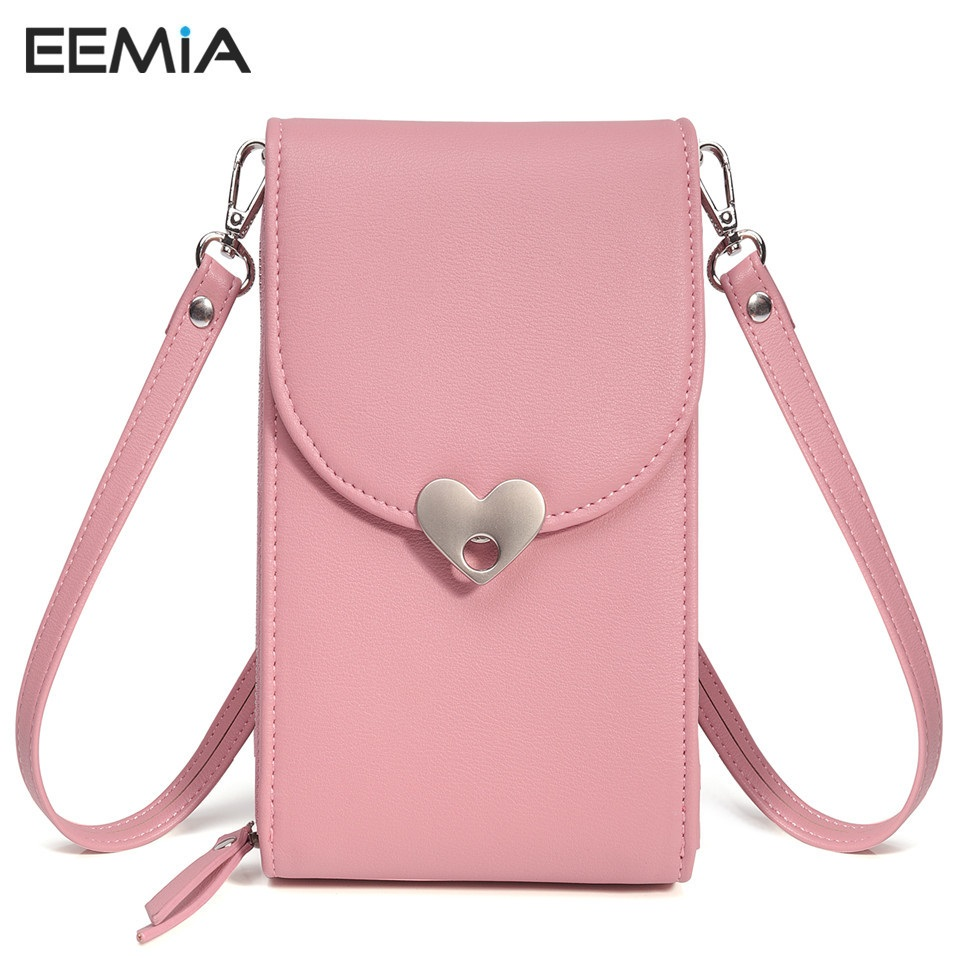 EEMIA Women Bag For Xiaomi Redmi 5 Case PU Leather Phone Bag Cases For Xiaomi Mi