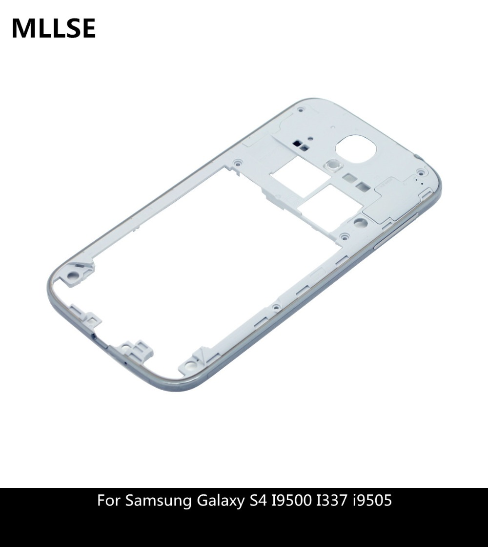Housing For Samsung Galaxy S4 GT I9500 Middle Front Rear Frame Bezel