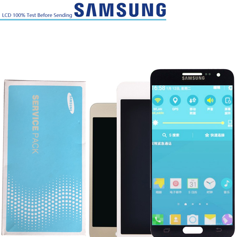 NEW ORIGINAL 4.5 Display Replacement for SAMSUNG Galaxy A3 2015 LCD A300 A300H A300F A300FU Touch Screen DigitizerNEW ORIGINAL 4.5 Display Replacement for SAMSUNG Galaxy A3 2015 LCD A300 A300H A300F A300FU Touch Screen Digitizer