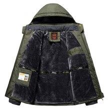 Зимние флисовые военные походные куртки мужские ветрозащитные непромокаемые пиджаки парка мужские s ветровка армейский плащ пальто