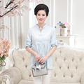 Plus size 4xl gola mulheres primavera chiffon blusa Cardigan 2017 sólido branco primavera de manga comprida senhora camisa solta feminino top