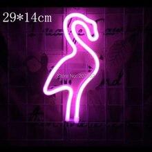 led Neon Night Light Love Flamingo Thunder Heart LED Hanging Lamp For