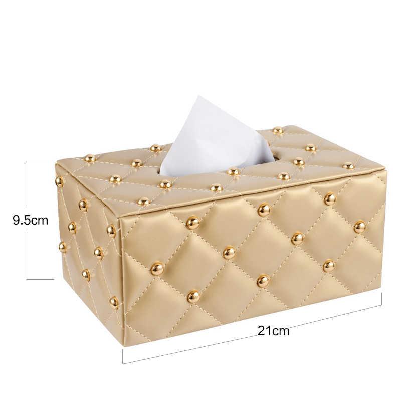Европейская креативная простая коробка для салфеток, плюшевая бумажная машинка для гостиной, бумажная машинка, контейнер для салфеток, диспенсер для бумажных полотенец 6ZJ03