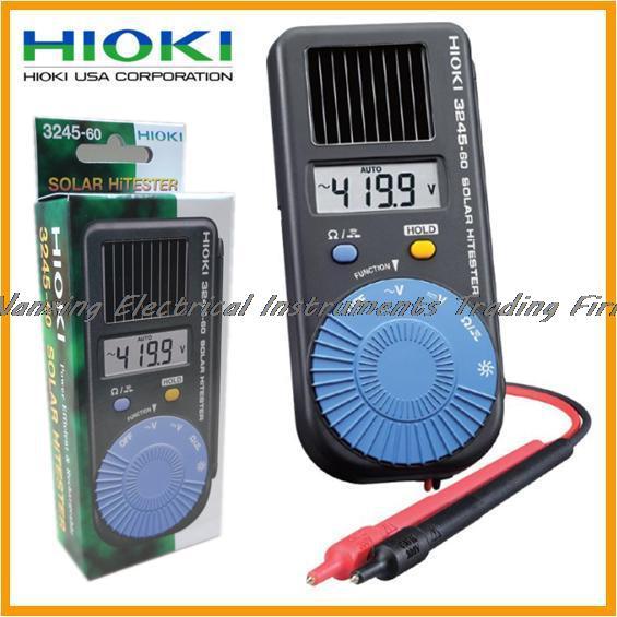 Fast arrival HIOKI  3245-60 FMI Digital HiTESTER Solar Multimeter Pocket-sized fast arrival hioki 3280 10 clamp hitester 1000a hitester ac dc tester meter
