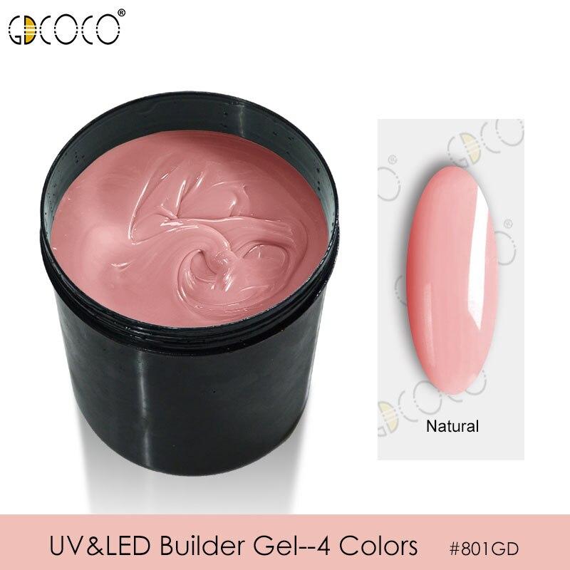 CANNI Builder Gel Approvisionnement En Vrac Paquet 1 kg Camouflage Gelée Gel Soak Off UV LED Manucure Extension Gel