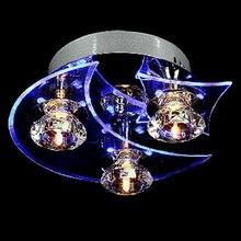 NFLC Contemporary LED Crystal Pendant Lamp Lighting Chandelier