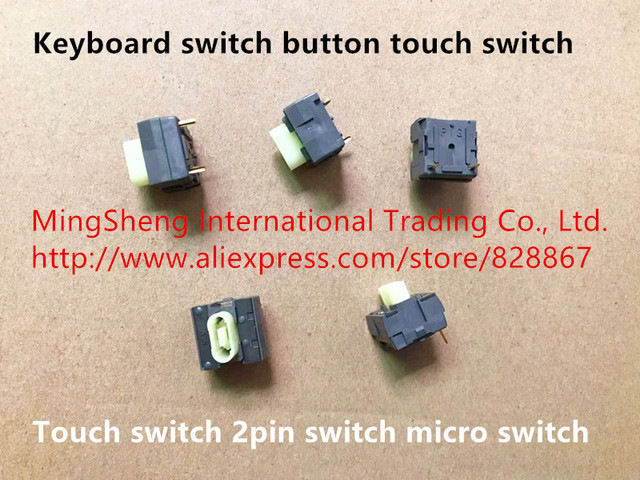 Original new 100% genuine import Japan keyboard switch button touch switch 2pin switch micro switch