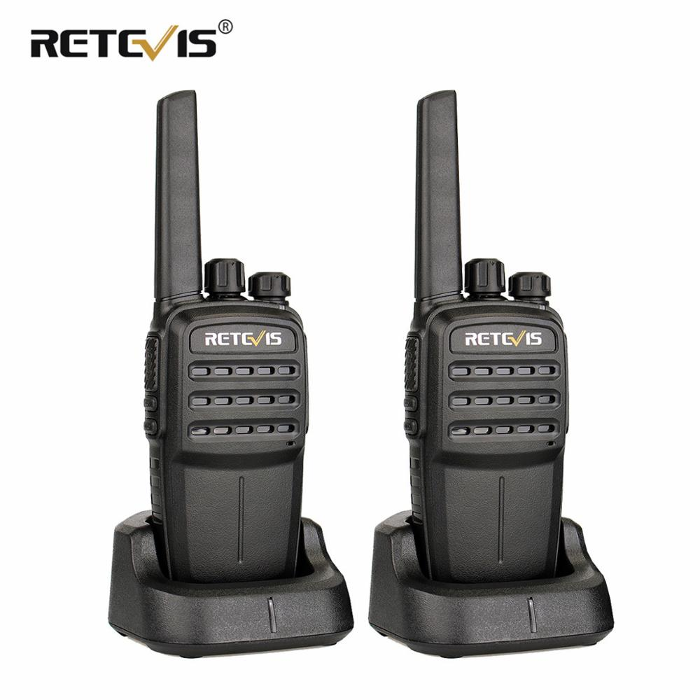 2 stuks Retevis RT40 Digital Walkie Talkie PMR446 / FRS DMR 0.5W 48CH - Walkie-talkies