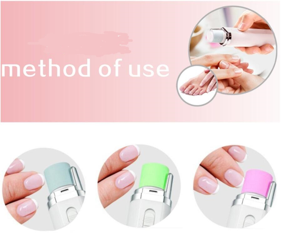 personal manicure nail shiny polish remover at home mani file ...